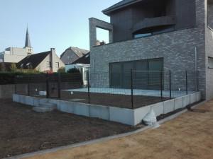 aanleg van terrassen Huldenberg
